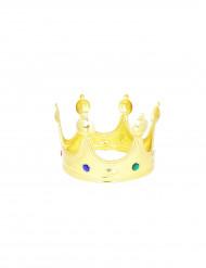 Kuninkaan kullanvärinen kruunu
