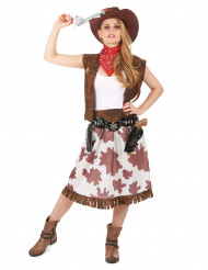 Aikuisten Cowgirl-asu