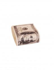 Nippu keinotekoisia dollarin seteleitä
