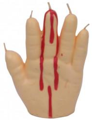 Verinen käsikynttilä - 15 cm