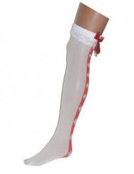 Sairaanhoitajan pitkät sukat aikuisille