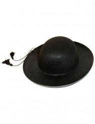 Musta papin hattu aikuiselle