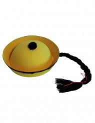 Kiinalainen hattu keltainen