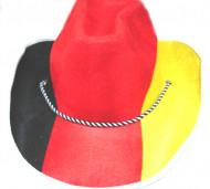 Cowboy-hattu Saksan väreissä