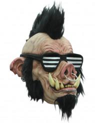 Punk-villisian naamio aikuisille
