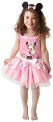Vaaleanpunainen Minni Hiiren™ naamiaisasu tytölle