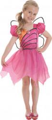 Tyttöjen naamiaispuku Barbie™ Mariposa