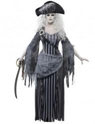 Merirosvohaamu Halloween-asu naisille