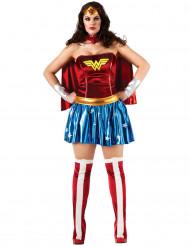 Naisten naamiaisasu Wonder Woman/ Ihmenainen™ plus-koossa