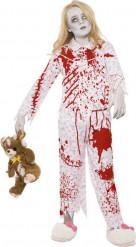 Zombien naamiaisasu lapselle halloweeniin