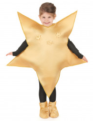 Kultainen tähtipuku lapsille