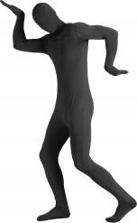 Aikuisen musta Second skin -haalari
