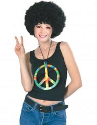 Värikäs iso hippikaulakoru