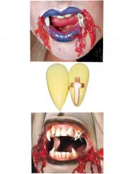 Vampyyrin hampaat kultaisella ristillä