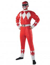 Punainen Power Rangers™ -asu aikuiselle