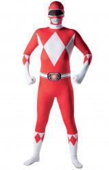 Aikuisten naamiaisasu punainen Power Rangeri™