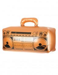 Puhallettava kultainen radio