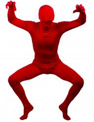 Aikuisen punainen second skin -haalari