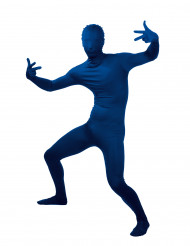 Sininen aikuisen second skin -haalari