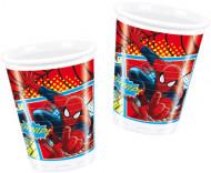 Spiderman™-muovimukit, 8 kpl