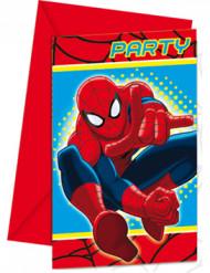 Hämähäkkimies™-kutsukortit 6 kpl