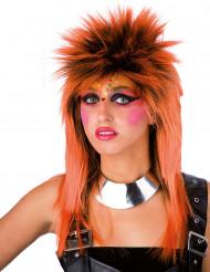 Oranssi punkkariperuukki aikuisille