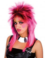 Pinkki punk-peruukki aikuisille
