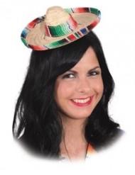 Värikäs pieni sombrero naiselle