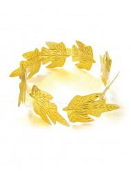 Kultainen lehtikruunu
