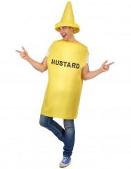 Aikuisten sinappipurkkipuku