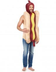 Aikuisten hot dog -puku