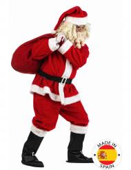 Plyysikankainen joulupukkipuku aikuiselle