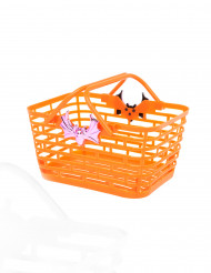 Oranssi Halloween-karkkikori
