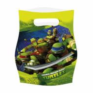 Turtles™ -lahjapussit, 6 kpl