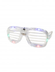 Läpinäkyvät LED lasit