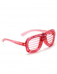 Punaiset LED silmälasit