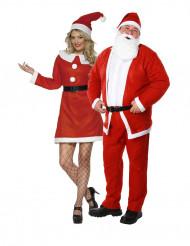 Joulumuori ja joulupukki-pariasu