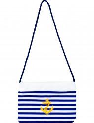 Merimiesaiheinen käsilaukku