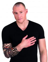Luuranko- tatuoitu hiha
