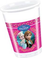 Muovimukit Frozen™ - 8 kpl