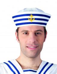 Raidallinen merimieslakki aikuisille