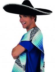 Musta sombrero aikuiselle