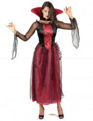 Vaikuttava vampyyri - Naisten Halloweenasu