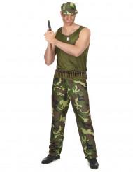 Miesten armeija-asu