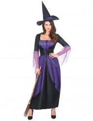 Naisten violetti noidan asu