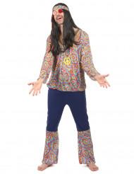 Pate Puutarhuri - Värikäs ja mukava hippiasu