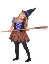 Violetti noita - Halloweenasu lapsille
