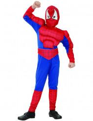 Hämähäkkimäisen supersankarin asu lapsille