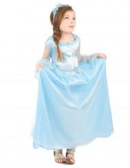 Sininen prinsessa - Naamiaismekko lapsille