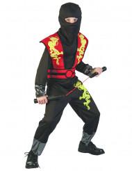 Kultaisen lohikäärmen ninja - Naamiaisasu lapsille